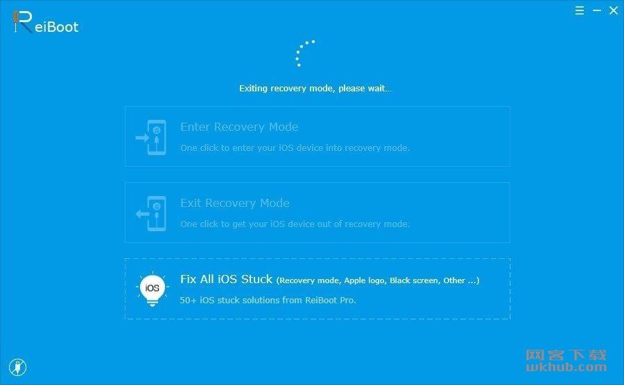 ReiBoot Pro 7.3.4 修复iOS系统启动卡死故障
