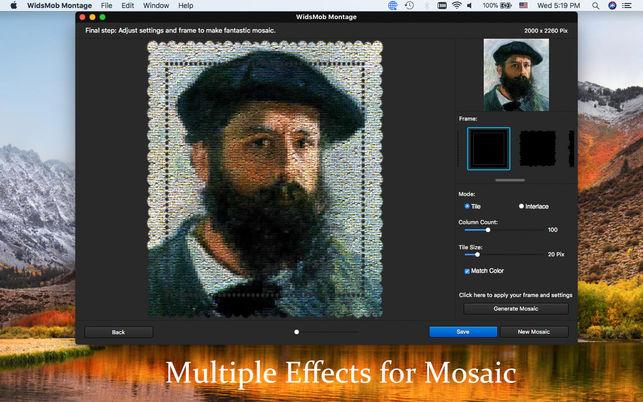 WidsMob Montage 1.14 优秀的蒙太奇图片制作软件