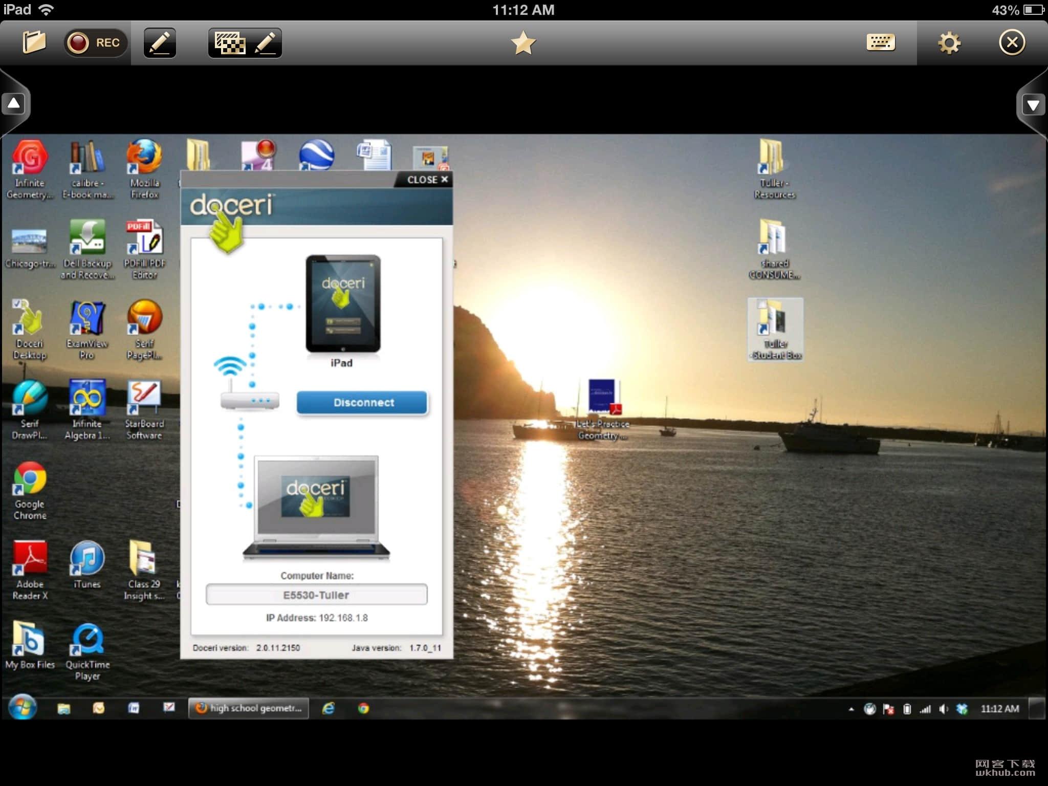 Doceri Desktop 2.1.10 方便的远程控制软件