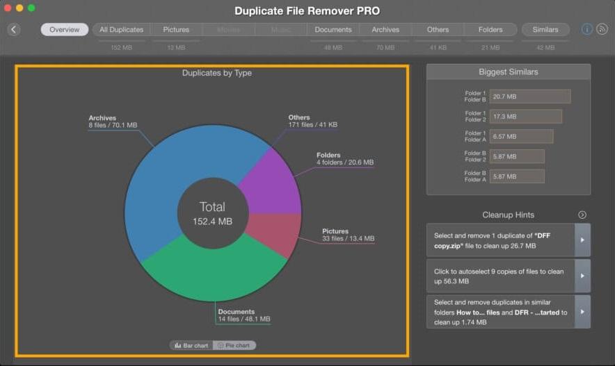 Duplicate File Remover Pro 5.4 重复文件查找清洁工具