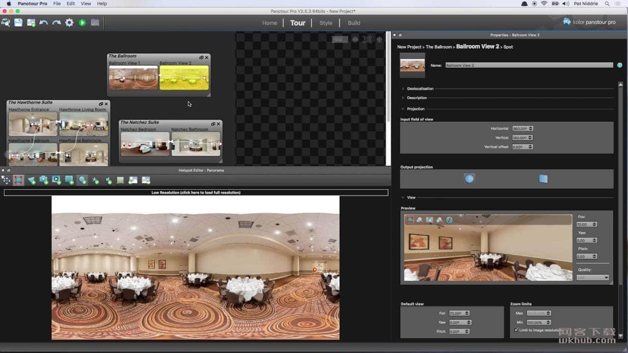 Kolor Panotour Pro 2.5.12 全景图片制作工具