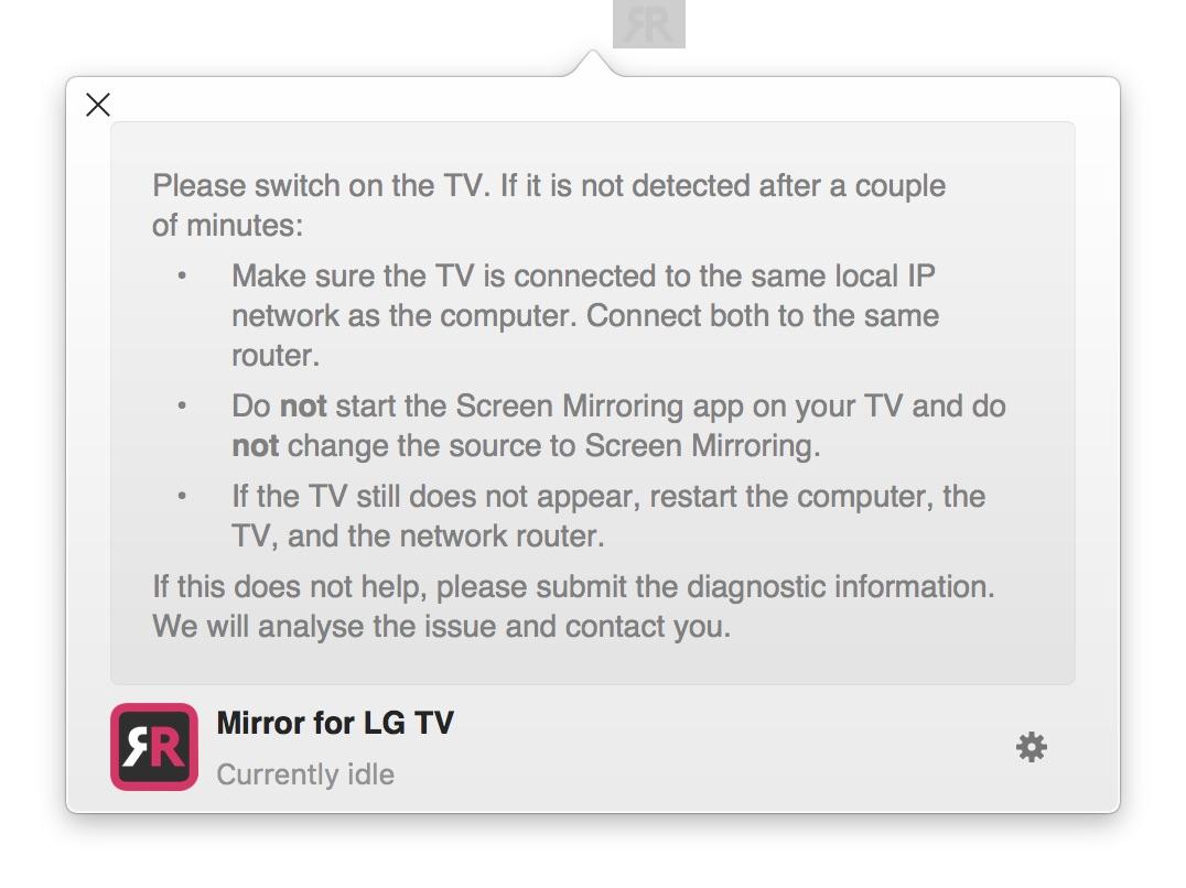 Mirror for LG TV 2.2.1 LG智能电视投影软件