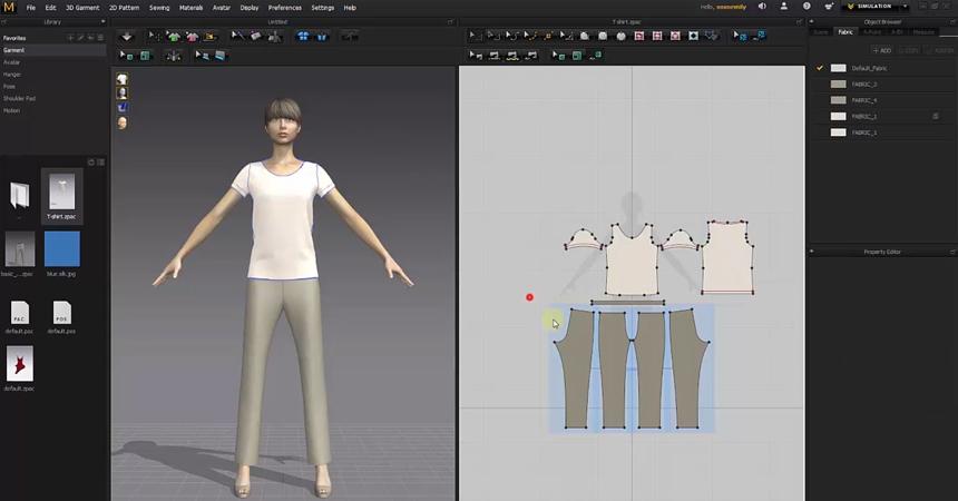 Marvelous Designer 8 Personal 4.2.293 强大的服装设计软件