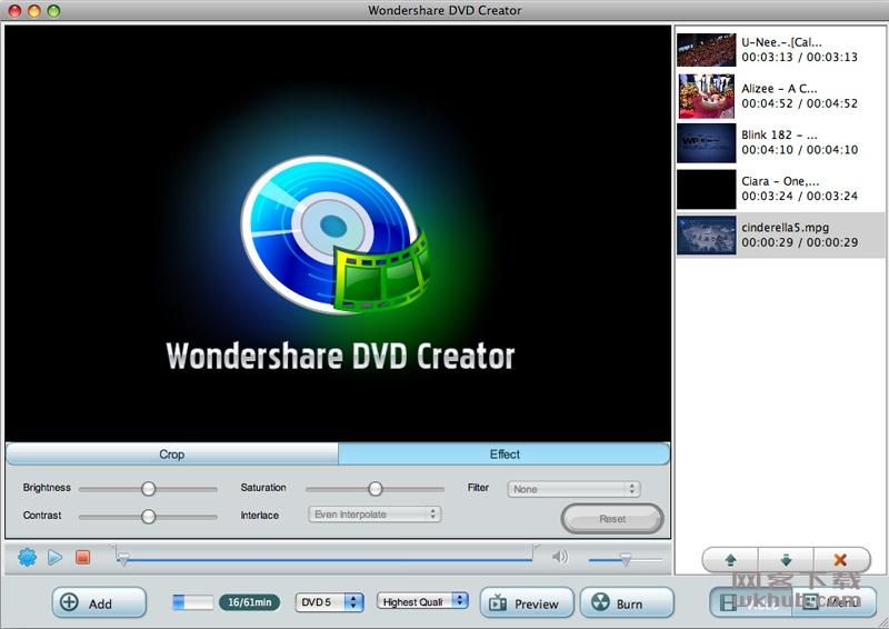 Wondershare DVD Creator 6.0.0.3 优秀的DVD制作工具