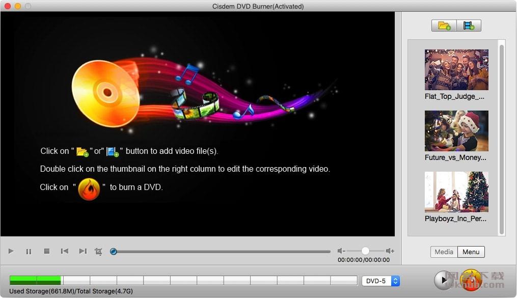 Cisdem DVD Burner 3.9.1 功能强大的的DVD刻录软件