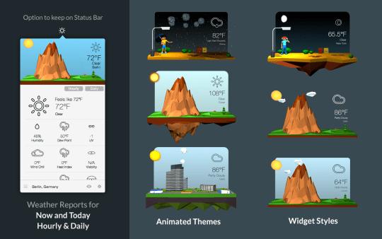 3DWeather 3.0 一款不一样的天气预报应用