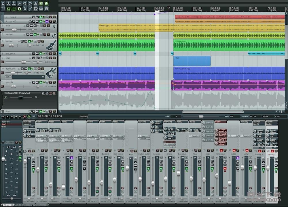 Cockos Reaper 5.95 优秀的数字音频制作软件
