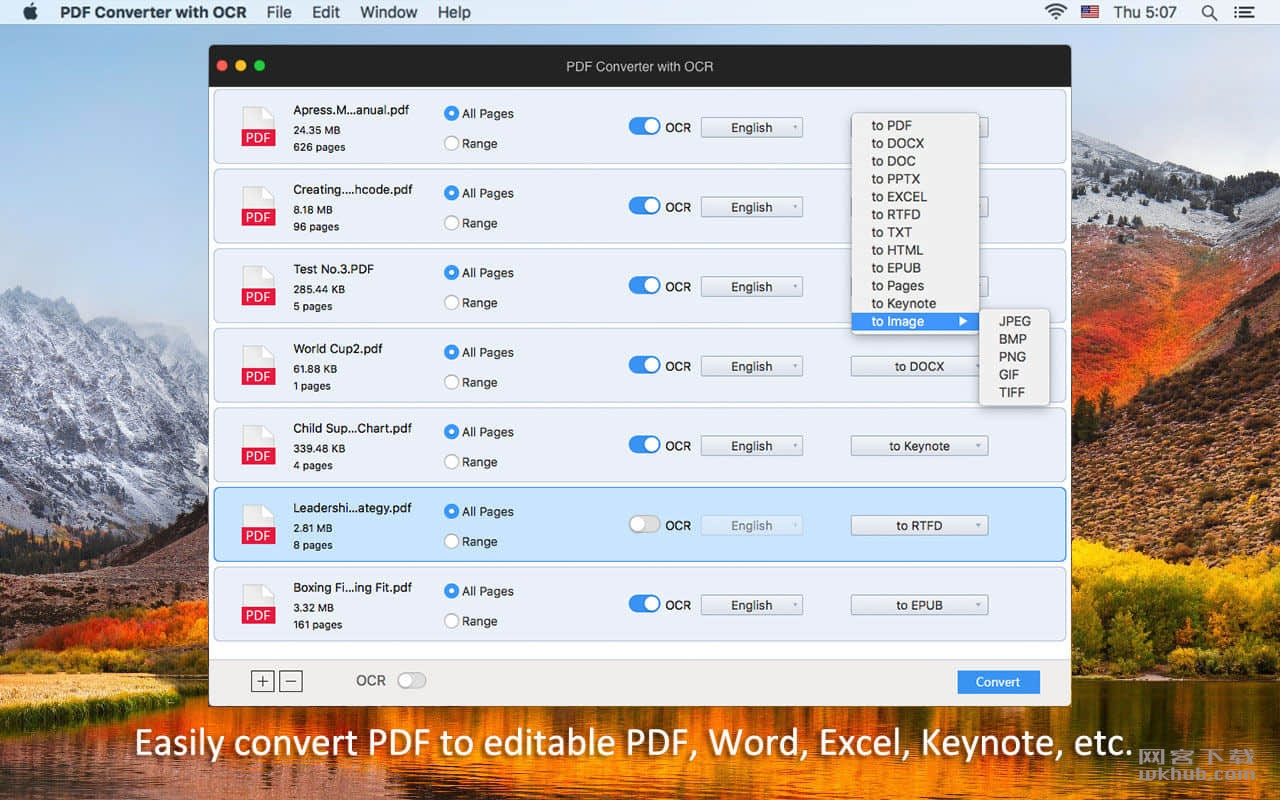 Enolsoft PDF Converter with OCR 6.8.0 PDF文本识别编辑转换工具