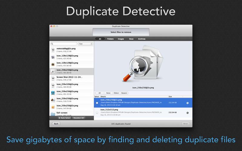 Duplicate Detective 1.99.1 优秀的重复文件查找清理工具