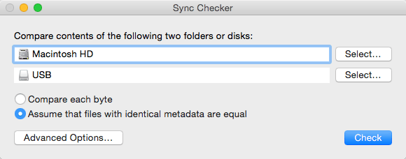 Sync Checker 3.2 文件同步检查工具