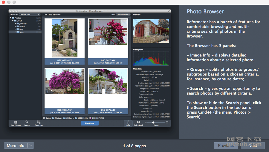 PhotoMill X 1.5.2 批量图像格式转换工具