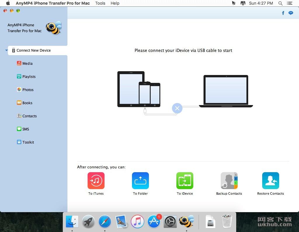 AnyMP4 iPhone Transfer Pro 9.0.16.91914 简单易用的iOS设备管理工具