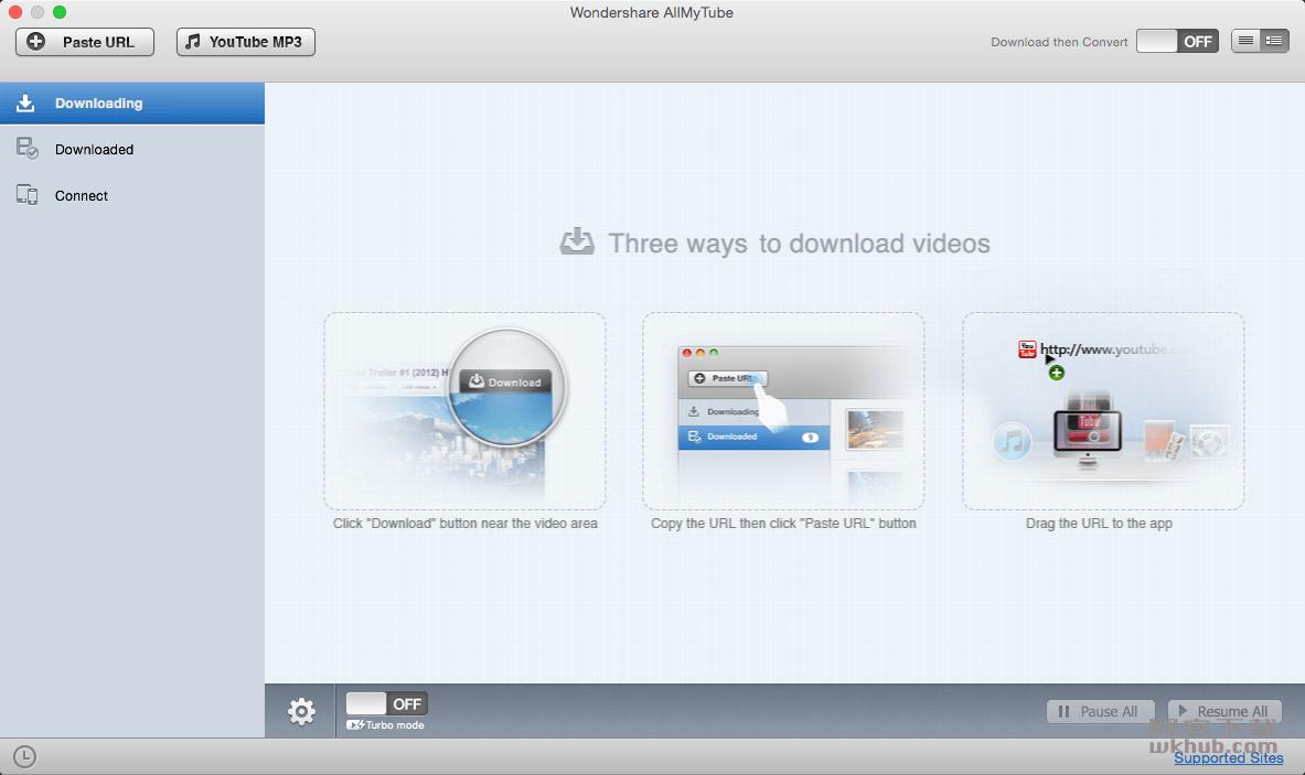 Wondershare AllMyTube 7.3.2.2 网络视频下载转换工具