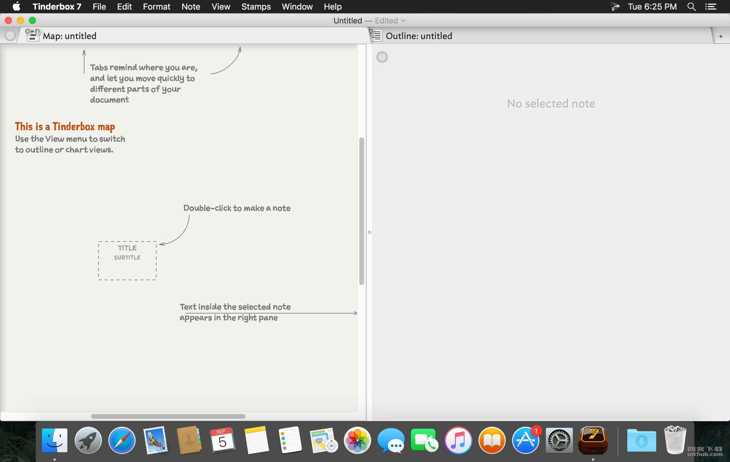 Tinderbox 8.2.1 个人内容管理工具
