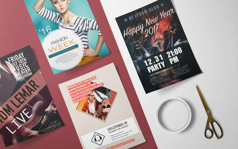 Flyer Templates - DesiGN 3.0.1 好用的Pages模版集合