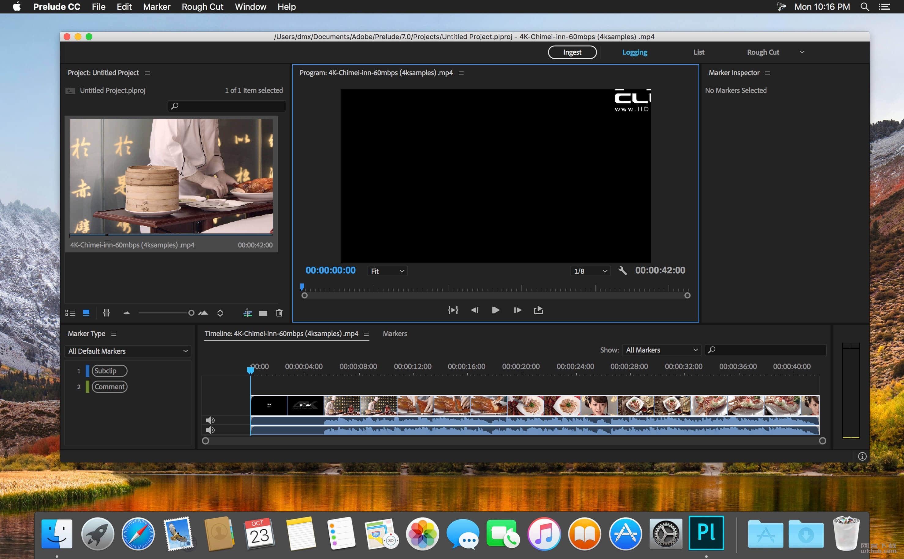 Adobe Prelude CC 2019 8.0.129 强大的视频制作软件