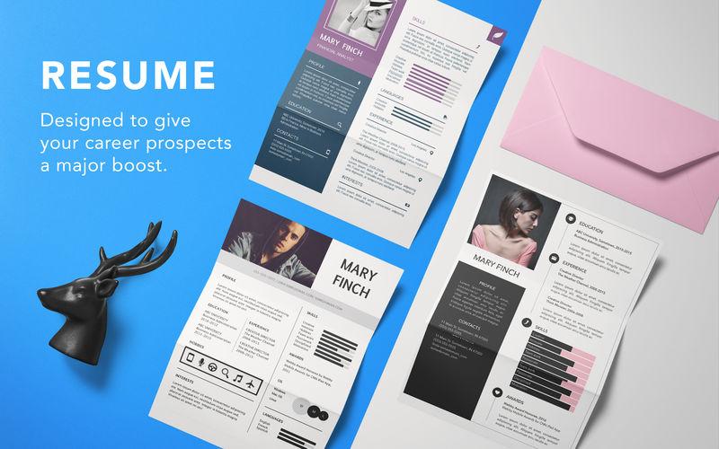 Resume Templates - Design 2.0.6 精美的简历模版应用