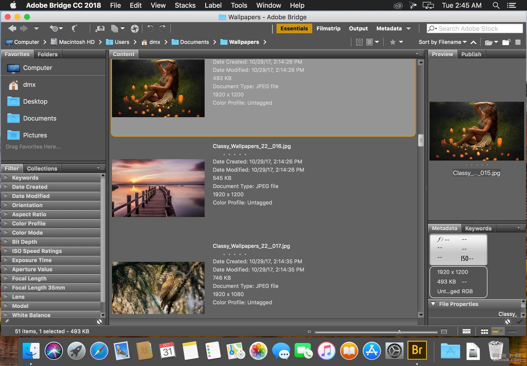 Adobe Bridge CC 2019 9.0.2 强大的图片和设计管理工具