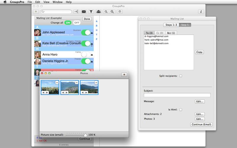 GroupsPro 3.2 联系人及邮件管理工具
