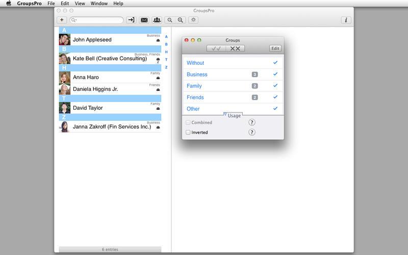 GroupsPro 3.0.2 联系人及邮件管理工具