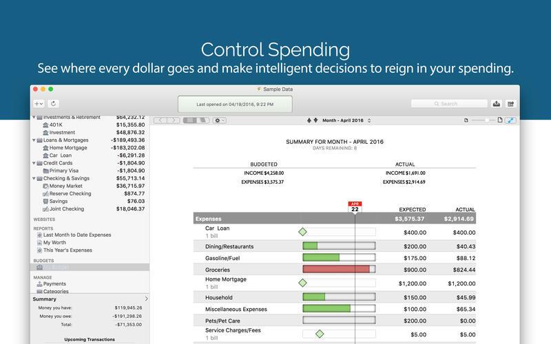 Banktivity 7.3.2 强大的财务管理软件