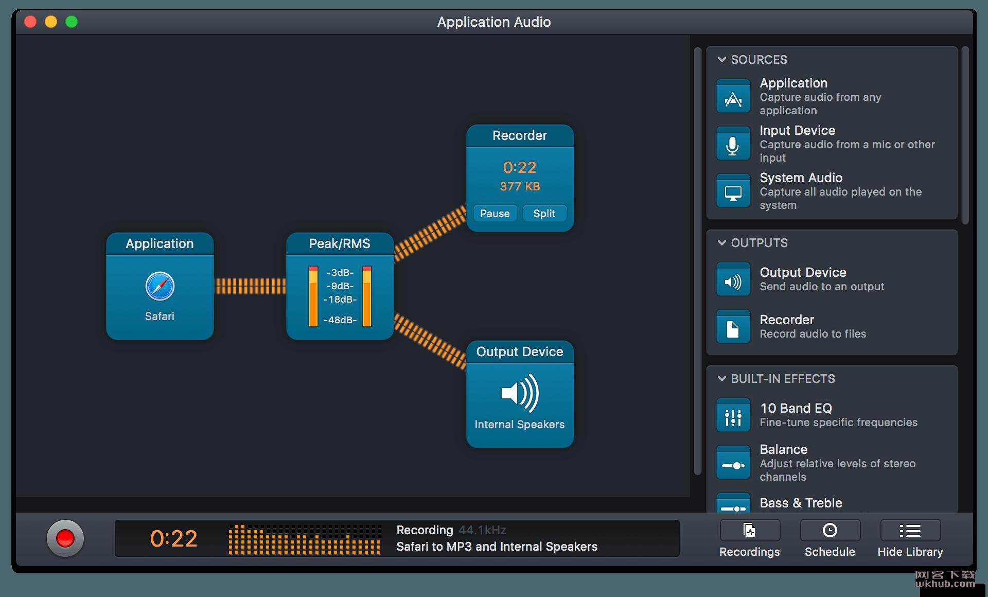 Audio Hijack 3.6.1 强大的音频录音工具