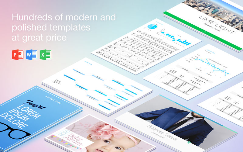 Templates Lab for MS Office 3.5 优秀的Office模板应用