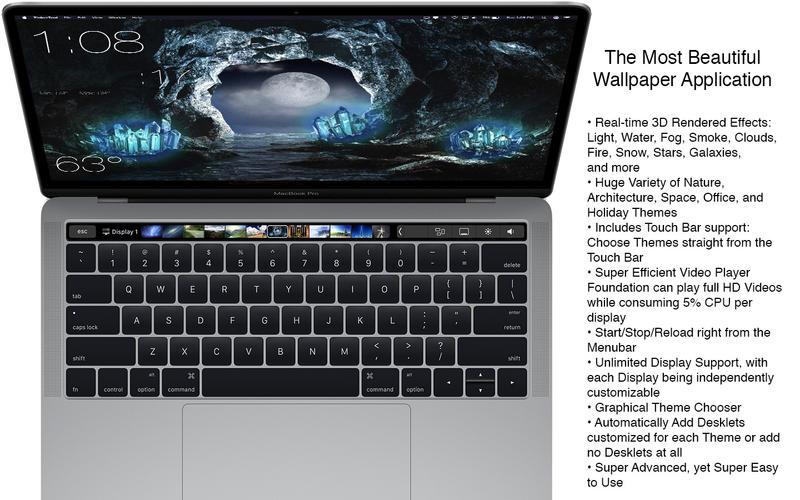 Mach Desktop 3.0.4 强大的桌面美化软件
