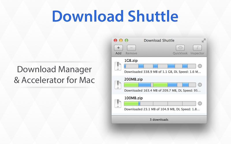 Download Shuttle Pro 1.6 文件快速下载器