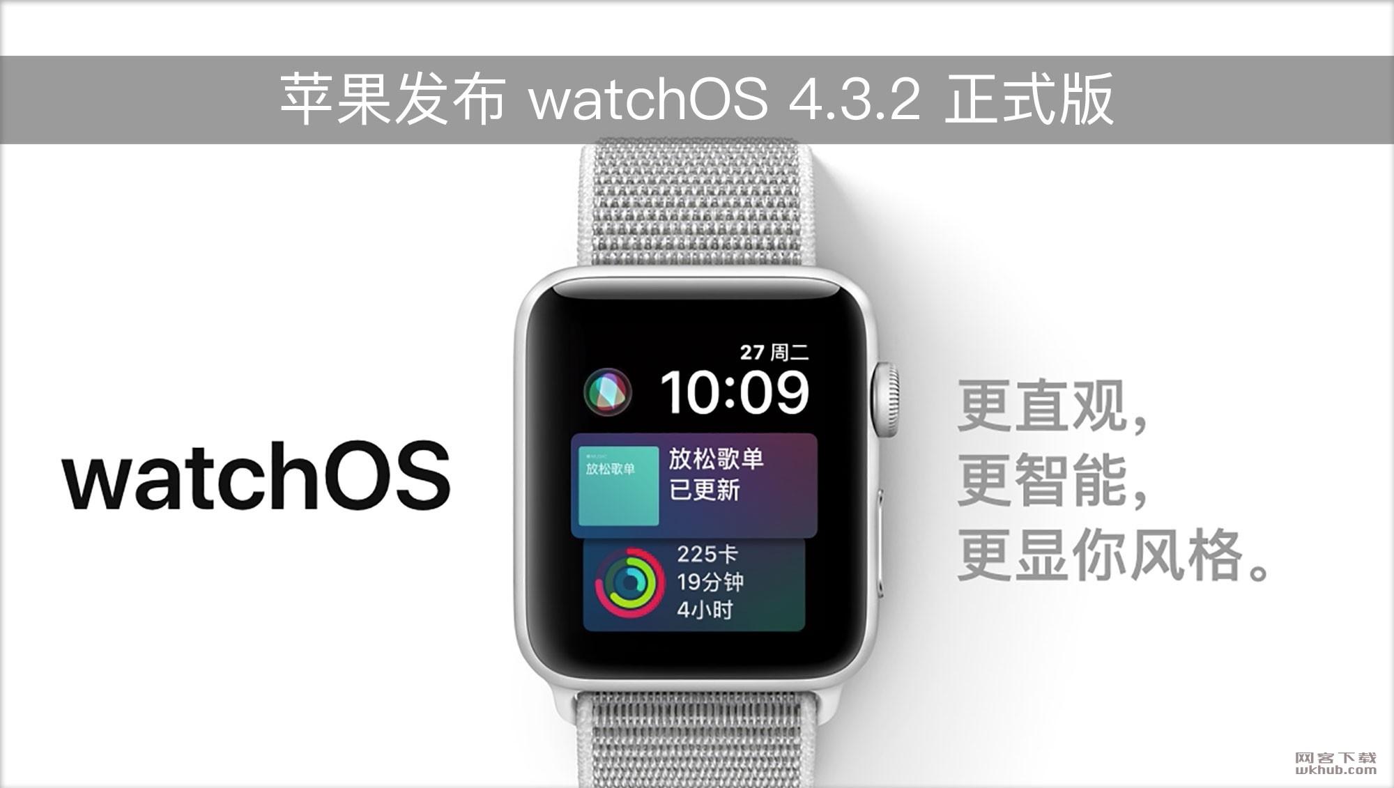 苹果发布 watchOS 4.3.2 和 tvOS 11.4.1 正式版更新!