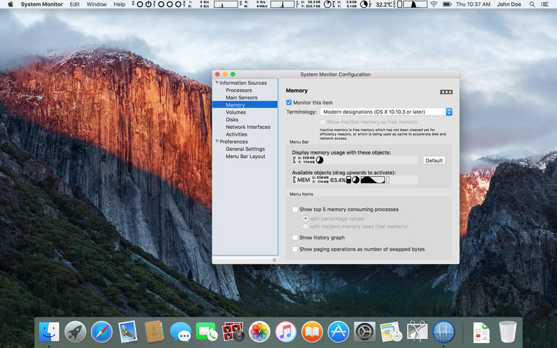 System Monitor 2.7 优秀的系统监控工具