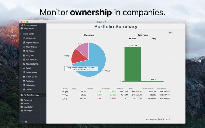 Stock Pro 3.8.5 国际股票行情实时查看分析工具