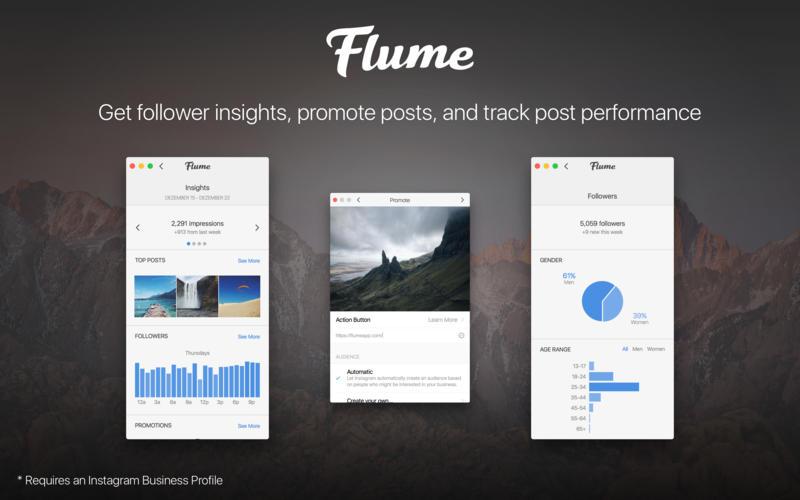 Flume 2.8.6.3 精美的Instagram客户端