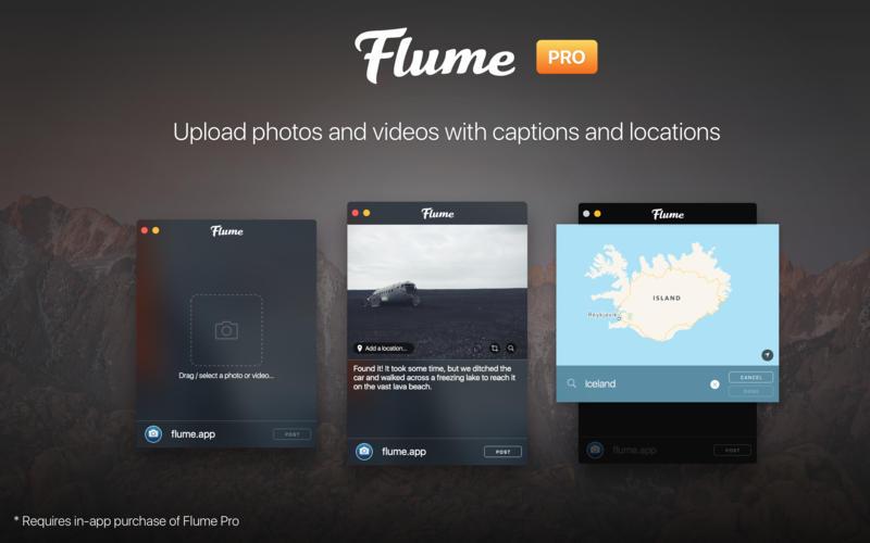 Flume 2.8.6.5 精美的Instagram客户端