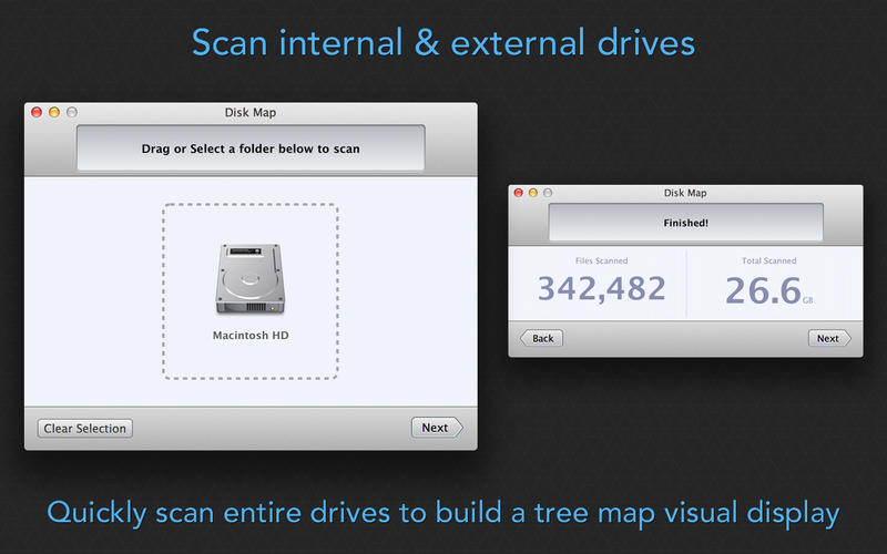 Disk Map 2.5 直观显示磁盘空间占用状态的工具