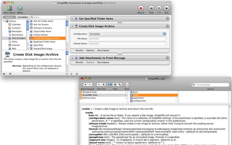DropDMG 3.5.4b3 快速制作DMG文件的工具
