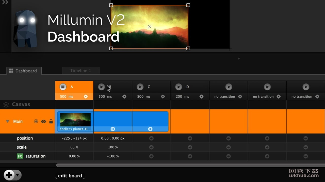Millumin 3.14.d 专业的舞台灯光视频控制软件