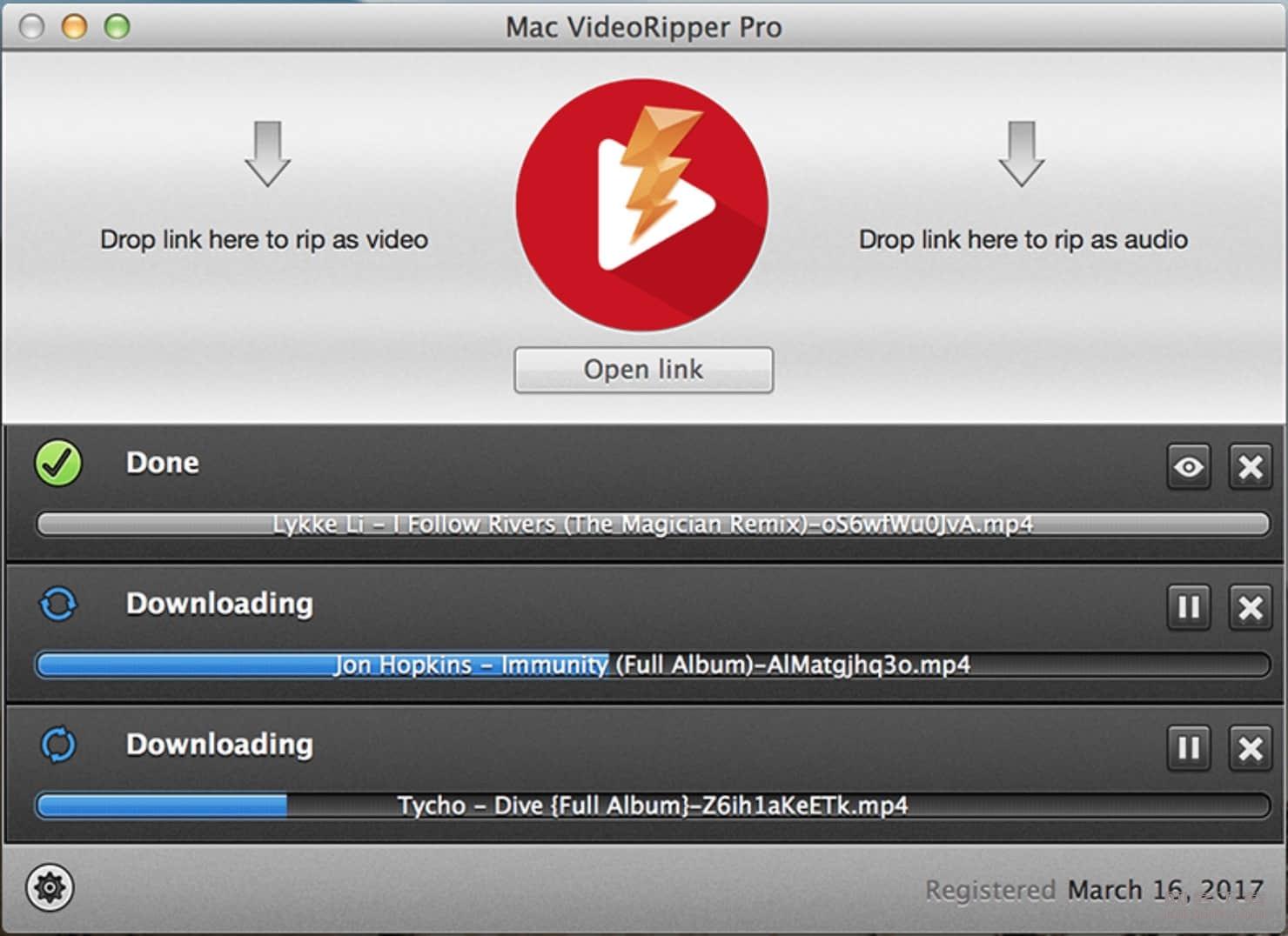 Mac VideoRipper Pro 1.0.8 简单好用的网站视频下载工具