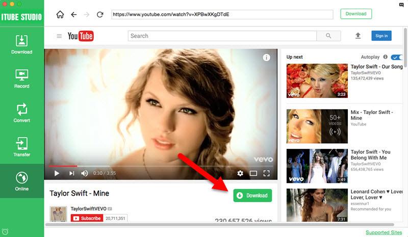 iTube Studio 7.4.0.5 Youtube视频下载转换工具