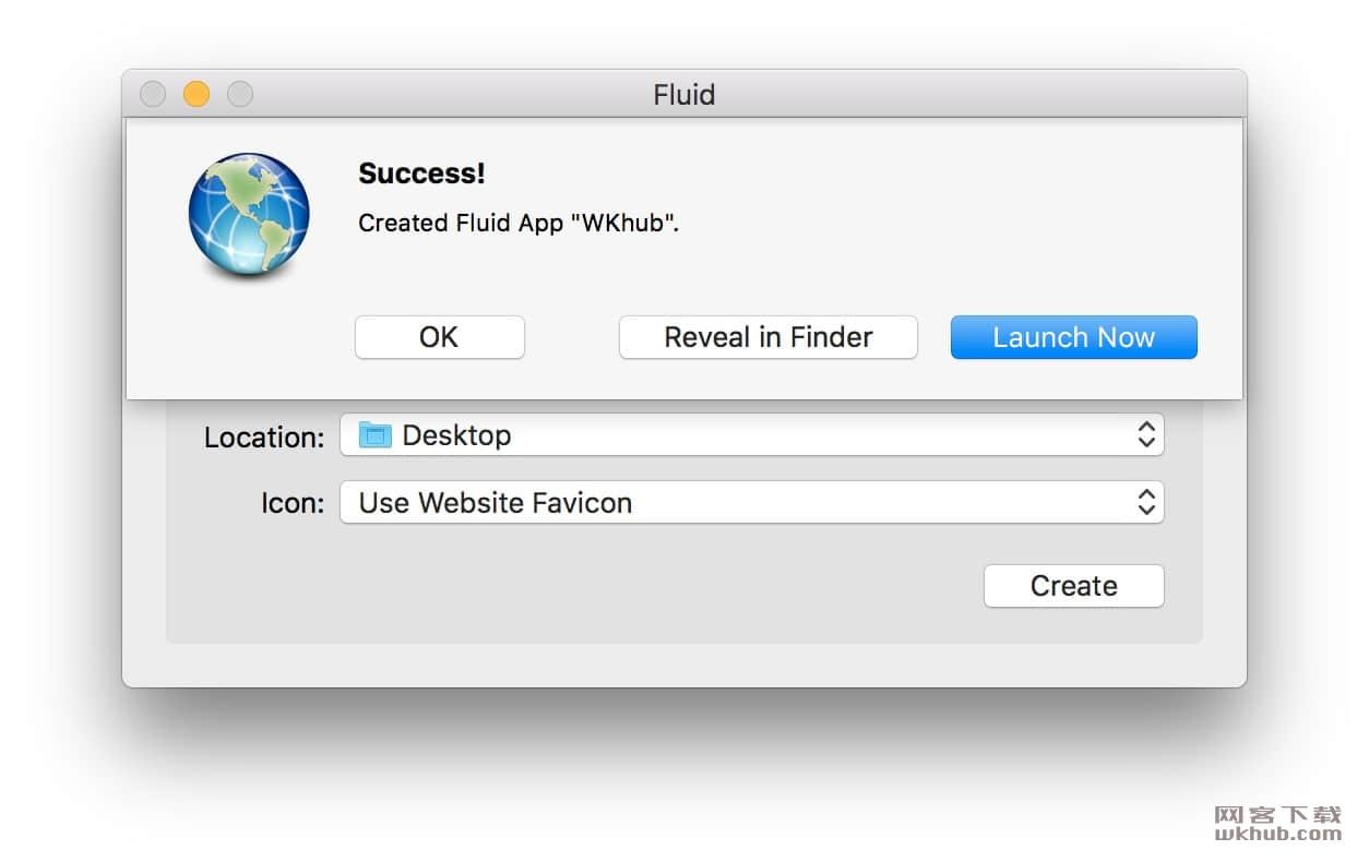 Fluid 2.1 好玩的网站转APP工具