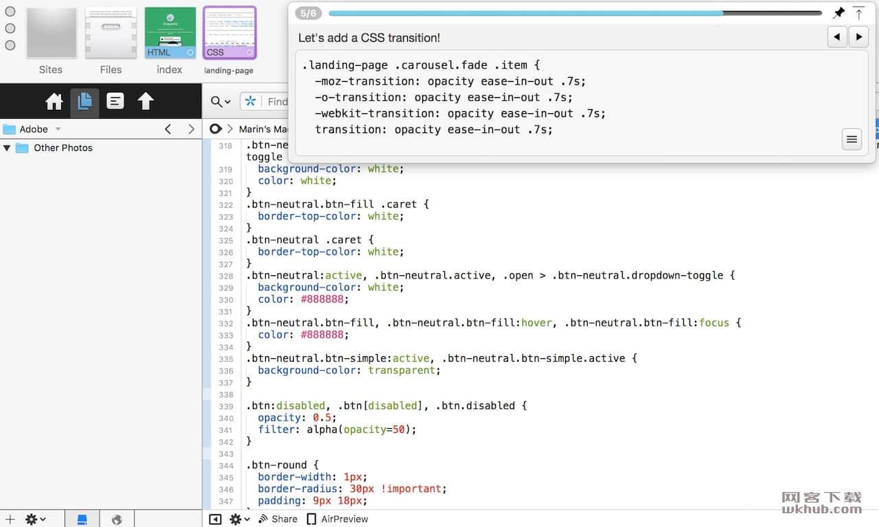 Snippetty 1.6 现场代码演示工具