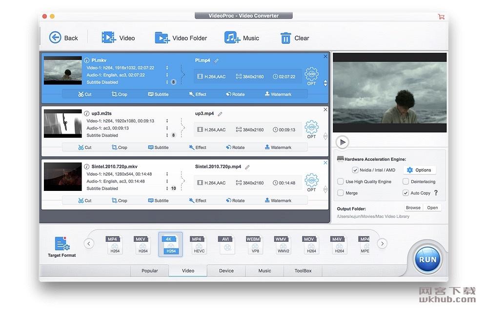 VideoProc 3.2(20190130) 超强的全功能视频处理工具