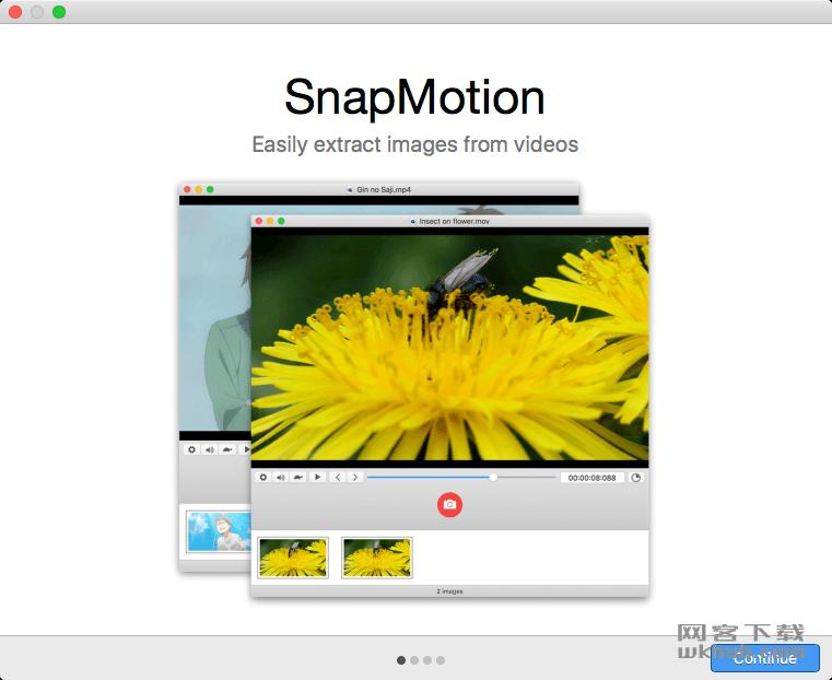 SnapMotion 4.1.0 快速视频截图工具