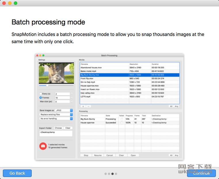 SnapMotion 4.2.0 快速视频截图工具