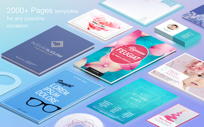 Publisher Lab - Templates 4.4.2 丰富的Pages模版