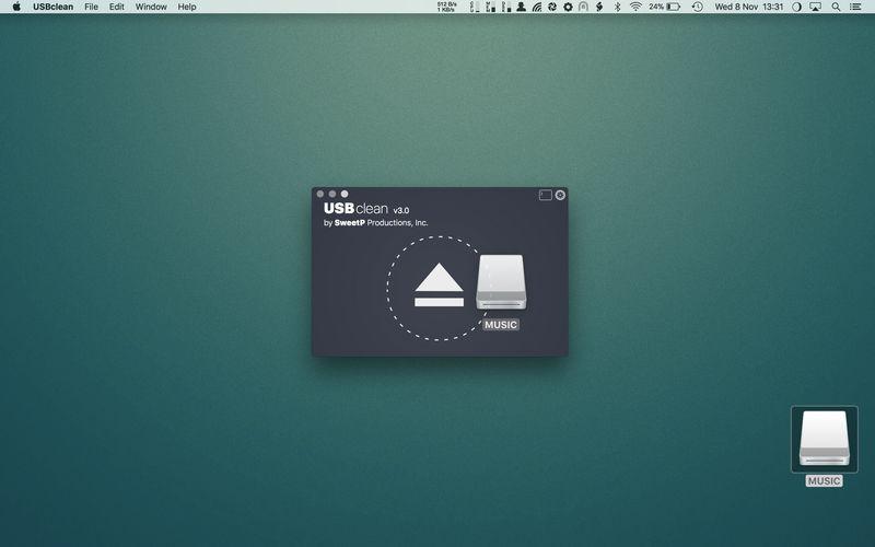 USBclean 3.3.1 易用的U盘清理工具