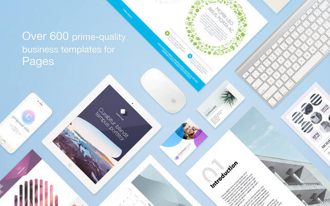 Business Print Lab – Templates 3.3.1 商业模板应用