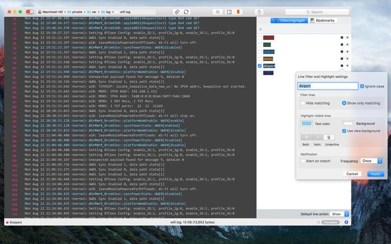 LogTail 3.4 强大的系统日志查看工具