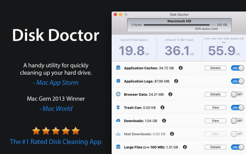 Disk Doctor 4.1 优秀的磁盘垃圾清理工具