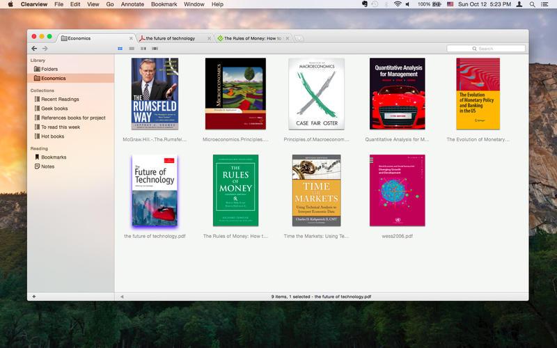 Clearview 2.1.1 优秀的多格式电子书阅读器